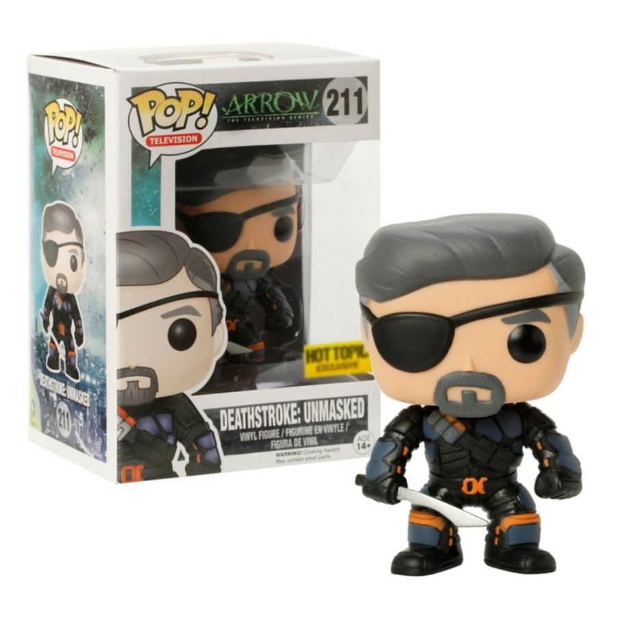 Funko POP! Vinyl Television - Arrow - Figure Deathstroke Unmasked
