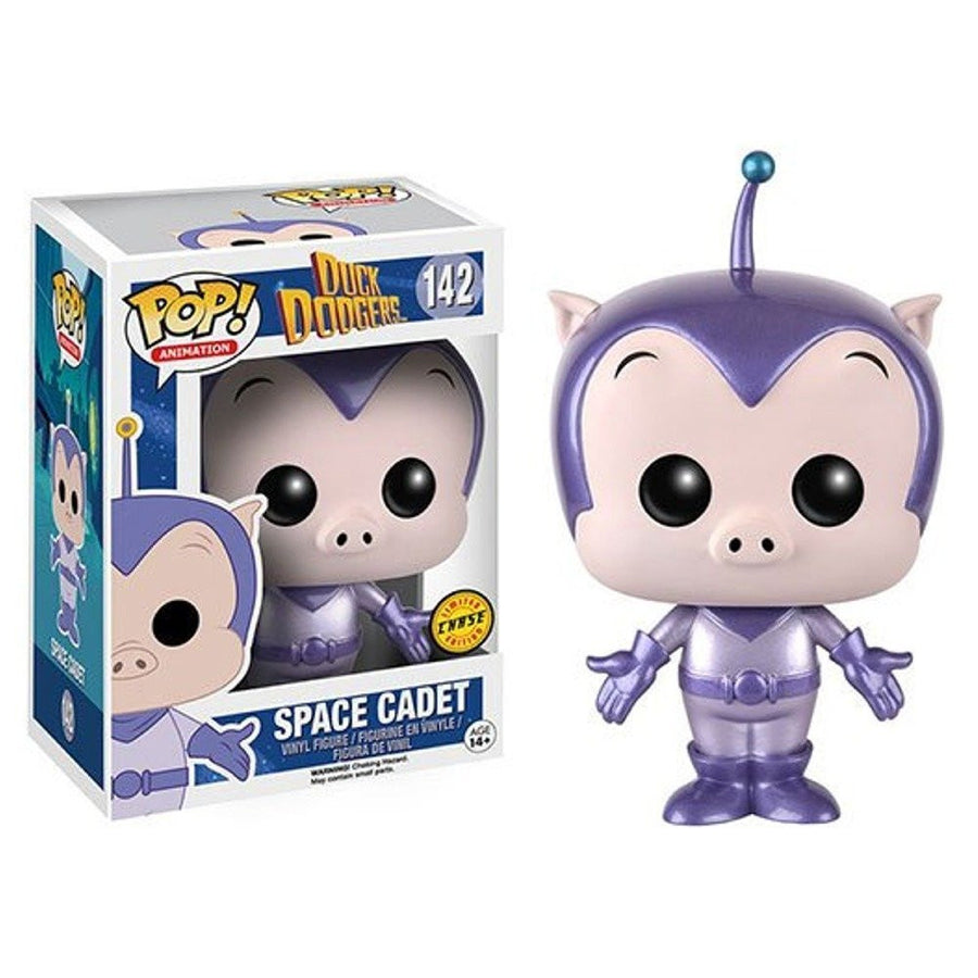 Funko POP! Vinyl Animation - Duck Dodgers  - Figure Space Cadet (CHASE)