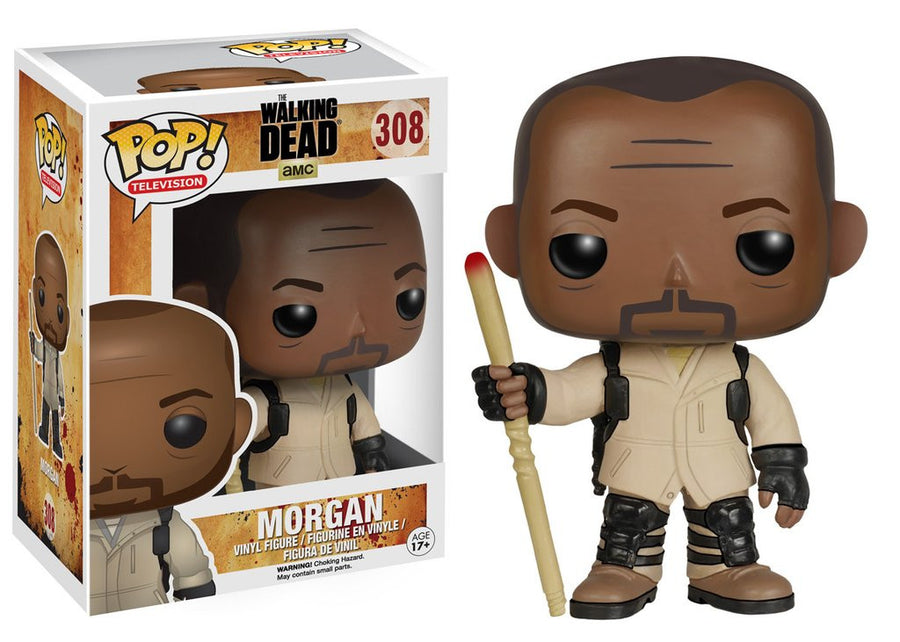 Funko POP! Vinyl Television The Walking Dead Figure Morgan (9 cm)