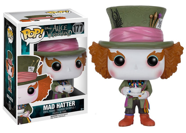 Funko POP! Disney - Alice in Wonderland - Vinyl Figure Mad Hatter (177)