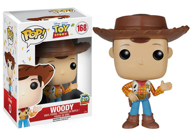 Funko POP! Disney - Toy Story- Woody (20th Anniversary) (168)