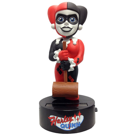 Body Knocker Solar Powered - DC Comics - Bobble-Figure Harley Quinn