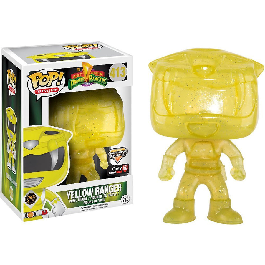 Funko POP! Vinyl Television - Power Ranger - Figure Yellow Ranger (Morphing) (Exclusive) (413)