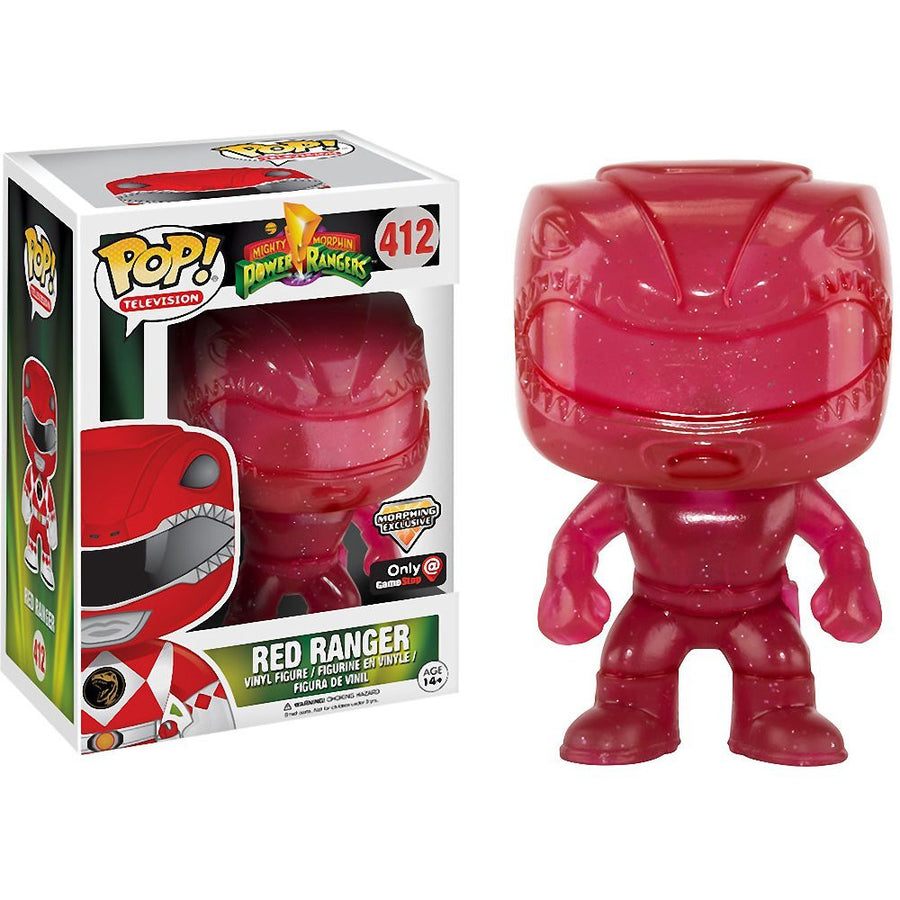 Funko POP! Vinyl Television - Power Ranger - Figure Red Ranger (Morphing) (Exclusive) (412)
