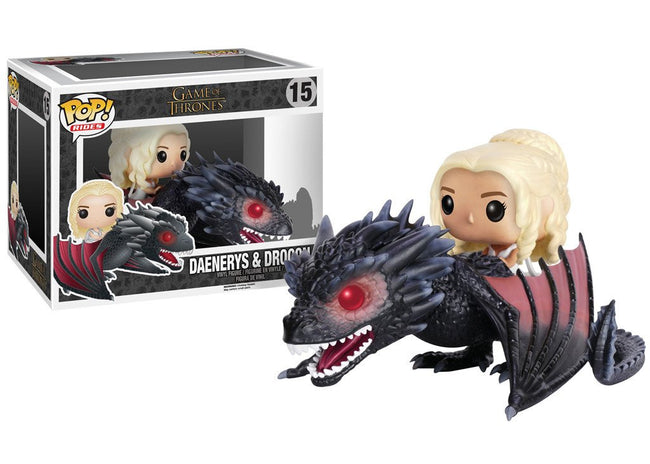 Funko POP! Rides - Game of Thrones - Vinyl Figure Daenerys & Drogon (15)