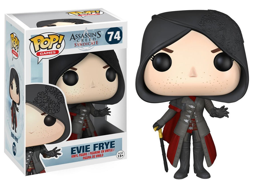 Funko POP! Games - Assassin's Creed Syndicate - Vinyl Figure Evie Frye (74)