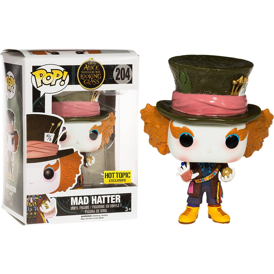 Funko POP! Vinyl Disney - Alice through the Looking Glass - Figure Mad Hatter (Chronosphere) (204)