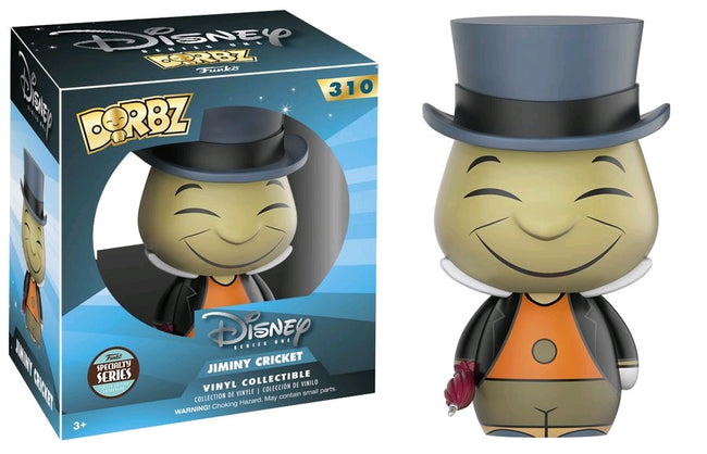 Funko DORBZ - Pinocchio - Vinyl Figure Jiminy Cricket (310) Exclusive