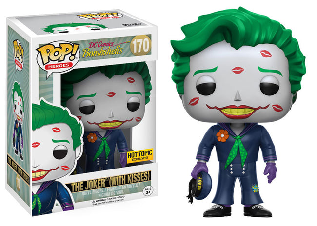 Funko POP! Vinyl Heroes - DC Comics Bombshells - Figure The Joker (With Kisses)