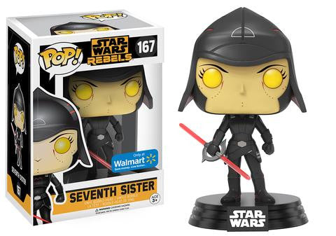 Funko POP! Star Wars Rebels - Vinyl Figure Bobble-Head Seventh Sister (167)