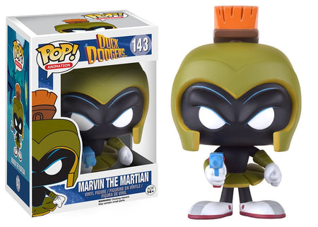 Funko POP! Vinyl Animation - Duck Dodgers  - Figure Marvin The Martian