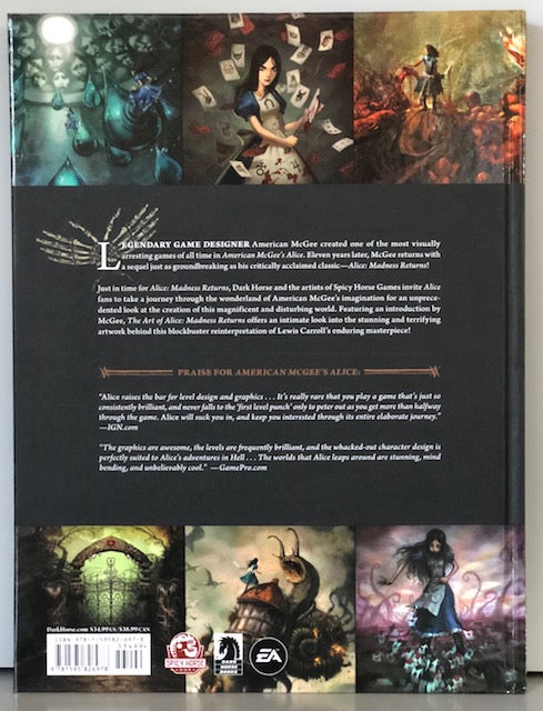 Dark Horse Book - The Art Of Alice, Madness Returns