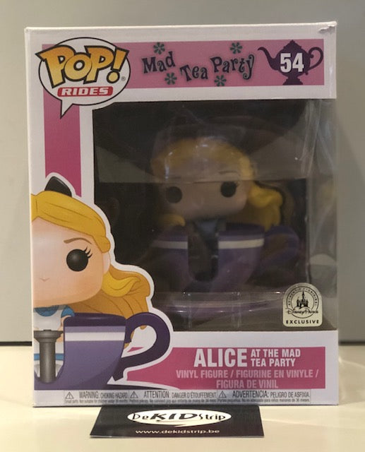 Funko POP! Rides - Disney - Mad Tea Party - Alice at the Mad Tea Party (54) Exclusive DAMAGED PACKAGING