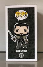 Funko POP! Television - Game of Thrones - Vinyl Figure Jon Snow (61) DAMAGED PACKAGING
