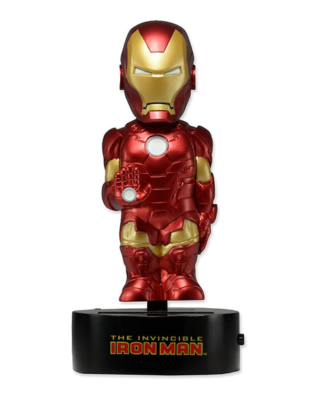 Body Knocker Solar Powered - Marvel Comics - Bobble-Figure Iron Man