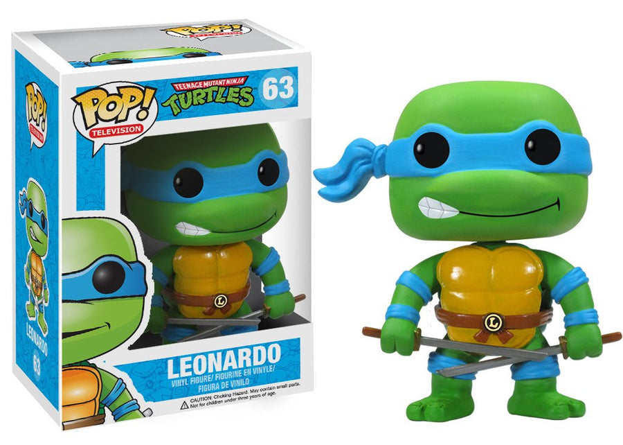 Funko POP! Vinyl Television - Teenage Mutant Ninja Turtles - Figure Leonardo (63)