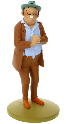 Moulinsart - Tintin - Great Figure Resin - Figure Oliveira Da Figueira