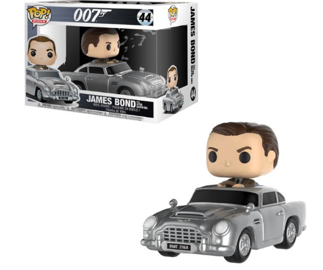 PREORDER : Funko POP! Rides - James Bond - Aston Martin & Sean Connery
