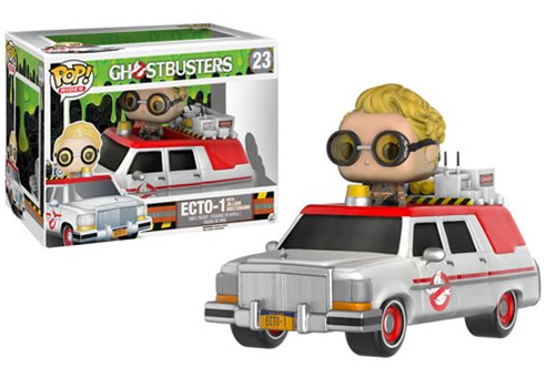 Funko POP! Rides - Ghostbusters - Vinyl Figure ECTO-1 with Jillian Holtzmann (23)