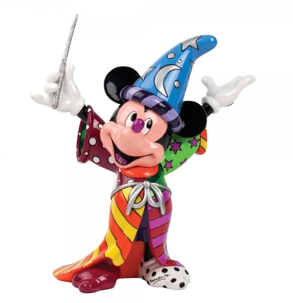Britto - Disney, Mickey Mouse - Resin Figure Sorcerer Mickey
