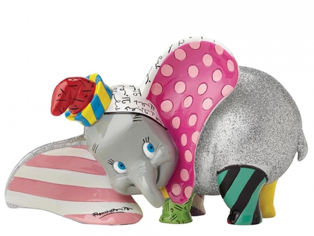 Britto - Disney, Dumbo - Resin Figure Dumbo