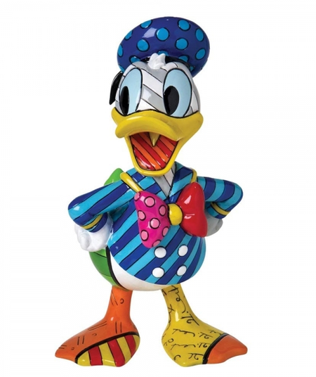 Britto - Disney, Donald Duck - Resin Figure Donald Duck