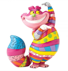 Britto - Disney, Alice in Wonderland - Resine Figure Cheshire Cat