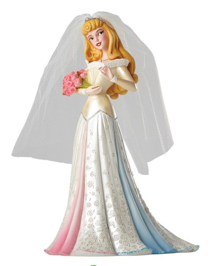 Disney Showcase Collection - Sleeping Beauty - Resin Figure Aurora Wedding (Haute Couture)