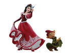 Disney Showcase Collection - Snow White & The Seven Dwarfs - Resin Figure Snow White with Dopey (Haute Couture)