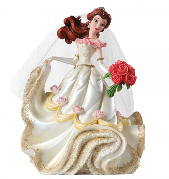 Disney Showcase Collection - Beauty & The Beast - Resin Figure Belle Wedding (Haute Couture)