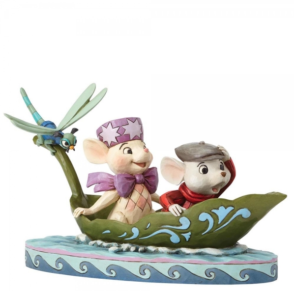 "Disney Traditions - The Rescuers - Resin Figure Bernard & Bianca ""To The Rescue"""