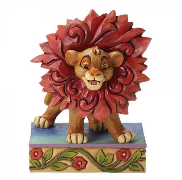 "Disney Traditions - The Lion King - Resin Figure Simba ""Just Can't Wait To Be King"""