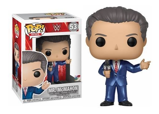 Funko POP! WWE Wrestling - Vinyl Figure Mr. McMahon (53)