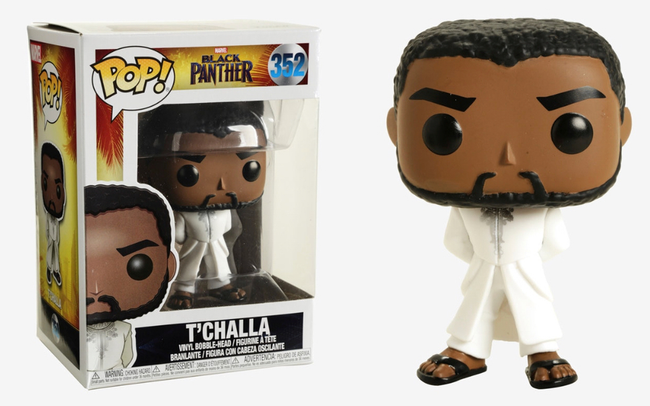 Funko POP! Marvel - Black Panther - Vinyl Figure T'Challa (White Robe) (352)