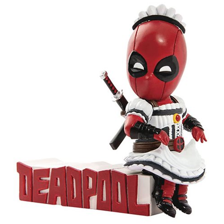 Beast Kingdom Toys - Deadpool Mini Egg Attack Series - Deadpool Maid Outfit