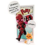 Beast Kingdom Toys - Mini Egg Attack Series - Deadpool AJump out 4th Wall