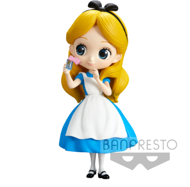 Q Posket Characters - Disney - Alice in Wonderland - Alice (Normal Color Version)
