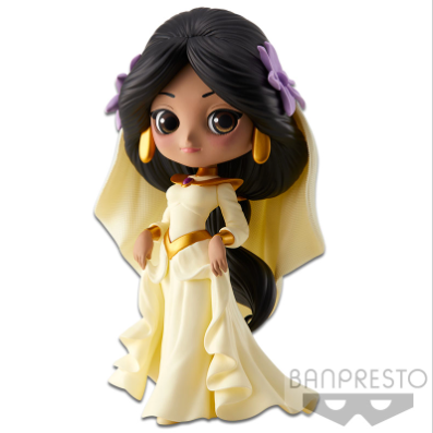 Q Posket Characters - Disney - Aladdin - Jasmine Dreamy Style (Normal Color Version)