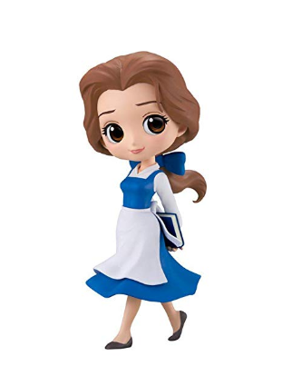Q Posket Characters - Disney - Beauty & The Beast - Belle Country Style (Normal Color Version)