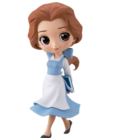 Q Posket Characters - Disney - Beauty & The Beast - Belle Country Style (Pastel Color Version)