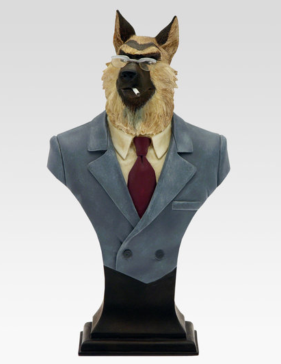 Attakus - Blacksad - Resine Buste Smirnov (Limited & Numbered) (16,50 cm)