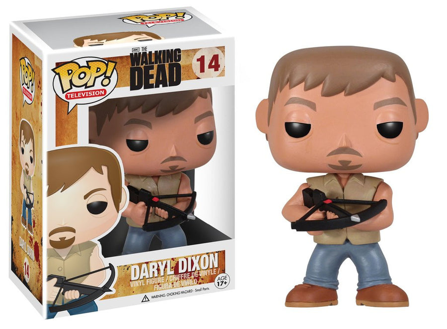 Funko POP! Vinyl Television The Walking Dead Figure Daryl Dixon (10 cm)