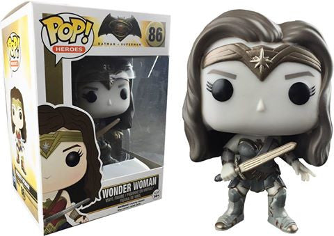 Funko POP! Heroes - Batman v Superman - Vinyl Figure Wonder Woman (B&W) (86)