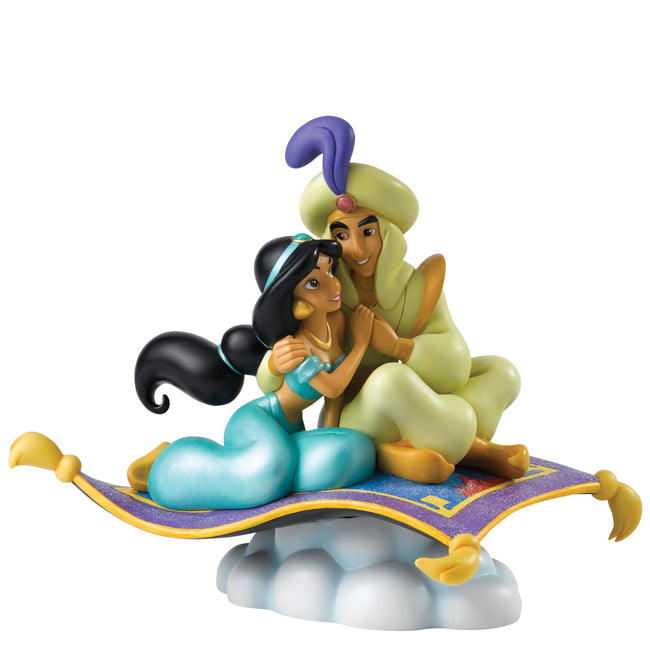 Enesco - Disney Enchanting Collection - Resin Figure Jasmine & Aladdin (A Whole New World)