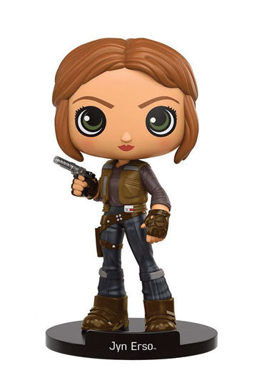 Funko Wobblers Vinyl Bobble-Head - Star Wars Rogue One - Figure Jyn Erso