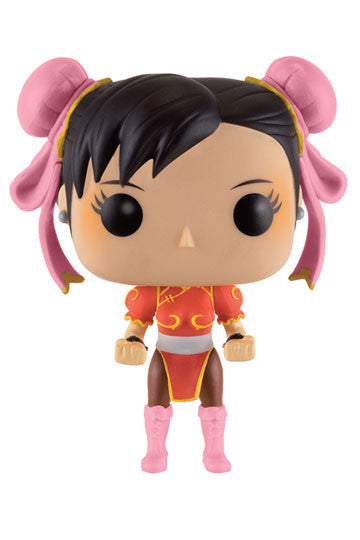 Funko POP! Games - Street Fighter - Vinyl Figure Chun-Li (Red Outfit) (136)