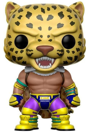 Funko POP! Games - Tekken - Vinyl Figure Tekken King (Caped) (207)