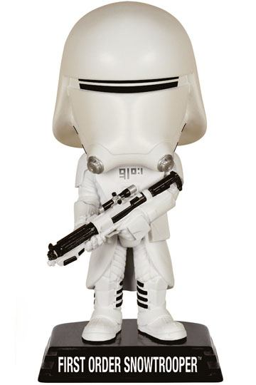 Funko Wacky Wobblers Bobble-Head - Star Wars, The Force Awakens - First Order Snowtrooper