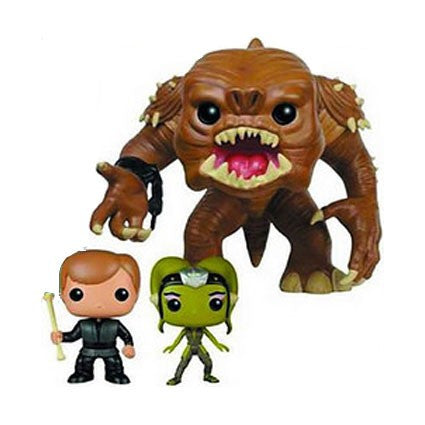 Funko Pop! Vinyl Star Wars - Figure Rancor, Luke Skywalker & Slave Oola (3 pack)