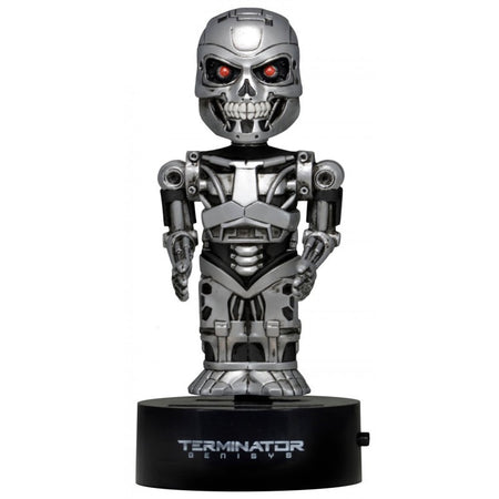 NECA Body Knockers - Terminator Genisys - Bobble-Figure Endoskeleton (15 cm)